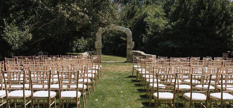 Un mariage à l'américaine avec une vraie cérémonie laïque